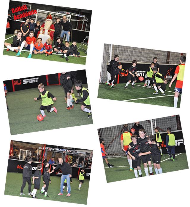 Cours de foot - académie pour enfants